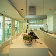 A view of the kitchen area, wooden cabinetry, architecture, ceiling, countertop, estate, house, interior design, kitchen, real estate, window, brown