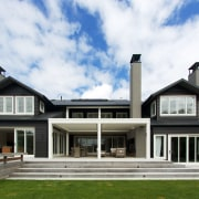 Attractive, secure and enduring – a clean, crisp building, cottage, elevation, estate, facade, farmhouse, home, house, mansion, property, real estate, residential area, white