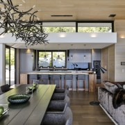 In this new home by Mason & Wales, home, house, interior design, living room, real estate, gray
