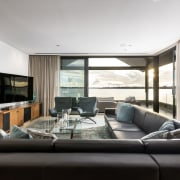 The living room in the west wing of interior design, living room, property, real estate, window, white, black