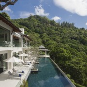 Architect Donal Coyne says this villa's 30m pool condominium, cottage, estate, home, house, leisure, property, real estate, resort, resort town, swimming pool, vacation, villa
