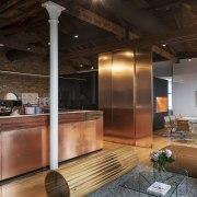 Haydn & Rollett Property Services undertook the project ceiling, interior design, lobby, loft, brown