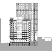 5 Martin Place represents a coming together of architecture, building, design, elevation, facade, line, pattern, plan, product design, structure, white