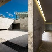 Catching some sun while underground – the University architecture, daylighting, house, sky, black