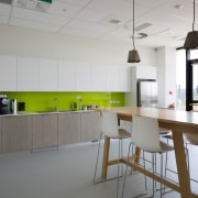 The joinery for six contemporary kitchens in the architecture, countertop, floor, interior design, kitchen, product design, gray