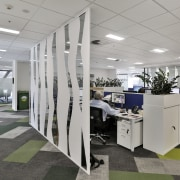 In the EMA head office building that prizes interior design, office, product design, gray