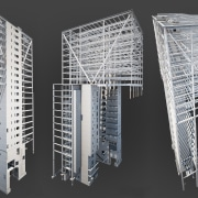 Up and over – Aurecon's dramatic engineering for architecture, product design, structure, black, gray