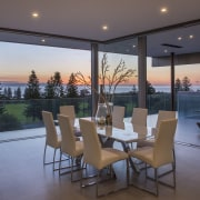 Drinking in the view – indoors become outdoors apartment, architecture, condominium, estate, home, house, interior design, living room, penthouse apartment, property, real estate, window, gray, black