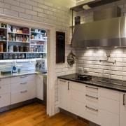 On this kitchen renovation by designer Simone van cabinetry, countertop, interior design, kitchen, gray