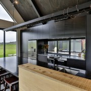 For this kitchen by Kyla Hunt of Carlielle architecture, house, interior design, black