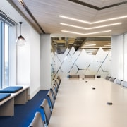 Even the meeting rooms in the Savills offices architecture, ceiling, daylighting, interior design, office, white