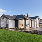 See more of this home cottage, elevation, estate, facade, farmhouse, home, house, land lot, property, real estate, residential area, roof, villa, teal