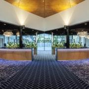 Resene Black White was chosen as a natural architecture, estate, interior design, lobby, real estate