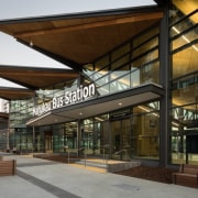 Manukau Bus Station (Auckland) by Beca Architects – See architecture, condominium, mixed use, real estate, brown