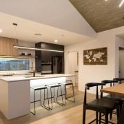 6 Hoiho Place Kitchen Area countertop, interior design, kitchen, real estate, room, orange