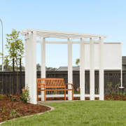 8 Hoiho Place Outdoor Area 3 backyard, facade, grass, home, house, outdoor structure, real estate, residential area, shed, yard, teal