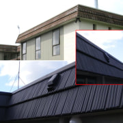 Refreshing your roof with new materials can change building, daylighting, facade, house, roof, siding, window, white, black