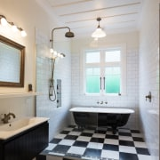 Family Bathroom 2 bathroom, estate, floor, home, interior design, real estate, room, window, gray
