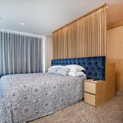 Layer upon layer – in this master suite, architecture, bed frame, bedroom, ceiling, home, interior design, real estate, room, suite, wall, gray