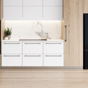 Learn more here cabinetry, chest of drawers, countertop, drawer, floor, furniture, home appliance, kitchen, product, refrigerator, white