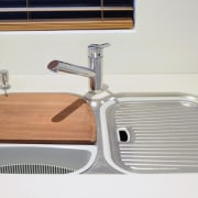 See this sink on the Oliveri websiteDesigner: Simply hardware, plumbing fixture, product, sink, tap, white