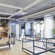 Upwell Health Collective – Siren Design Group Pty floor, interior design, real estate, window, white, gray