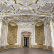 mosaic floors create a unique and timeless atmosphere arch, ceiling, classical architecture, column, palace, structure, symmetry, wall, gray