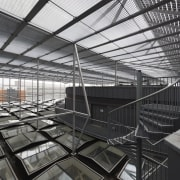 This new headquarters for the European Union Council architecture, building, daylighting, structure, black, gray