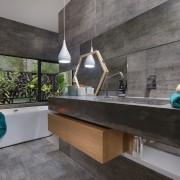 Collins W Collins architecture, countertop, house, interior design, real estate, gray, black