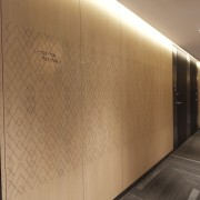 Hotel Ease Access architecture, ceiling, floor, flooring, interior design, lobby, property, wall, brown