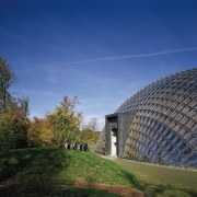Forestry Branch – Marche-en-Famenne architecture, biome, building, cloud, daytime, estate, field, grass, horizon, house, landmark, landscape, meadow, real estate, rural area, sky, sunlight, tree, blue