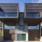 Arrowtown-based Bennie Builders was the only Southern Lakes architecture, building, elevation, facade, home, house, real estate, residential area, siding, black