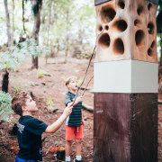 Finalist in NZ Specialty Timber Award (Category 8) forest, girl, photograph, plant, recreation, tree, woodland, black, gray