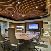 Smart Dubai ceiling, conference hall, interior design, office, brown