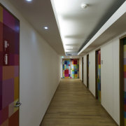 This new headquarters for the European Union Council ceiling, daylighting, floor, hall, interior design, lobby, gray