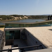 Another view of the sandy roof architecture, house, property, real estate, roof, water, black