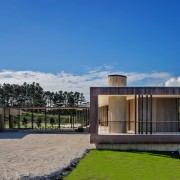 The Lake House – Resene Architectural Design Awards architecture, corporate headquarters, cottage, estate, facade, home, house, property, real estate, residential area, sky, villa, blue