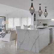 Smartstone architecture, countertop, floor, flooring, furniture, interior design, kitchen, product design, table, gray