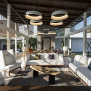 Architect: ADNDPhotography by Sebastian Zachariah interior design, living room, real estate, gray, black