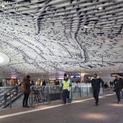 Municipal Offices and Train Station, Delft architecture, building, infrastructure, metropolis, metropolitan area, structure, tourist attraction, urban area, gray