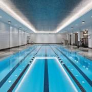 Jon Bon Jovi's new apartment in NYC – leisure, leisure centre, swimming pool, teal, gray
