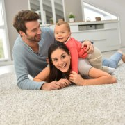 Underfloor heating child, family, father, flooring, fun, people, photograph, photography, sitting, white