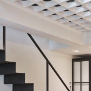 Andy Martin Architecture – Renovation in London architecture, ceiling, daylighting, handrail, interior design, lighting, product design, structure, gray