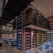 Architect: X+LivingPhotography by Shao Feng bookselling, building, institution, inventory, library, library science, public library, black
