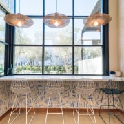Sweetfin Poke San Diego – Mayes Office daylighting, estate, home, interior design, property, real estate, room, window, white, gray