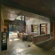 Architect: Studio PKA http://www.purankumar.com/Photographer: Amit Pasricha ceiling, interior design, brown