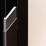 Hotel Ease door, product design, black, white