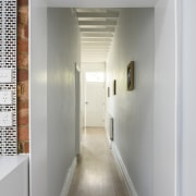 The old blends into the new in this architecture, ceiling, floor, home, interior design, gray