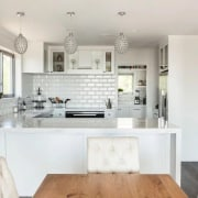 Need help with your next kitchen project? countertop, cuisine classique, home, interior design, interior designer, kitchen, living room, property, room, gray, white