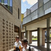 Bunbury Catholic College – Mercy Campus architecture, building, city, house, real estate, gray, black